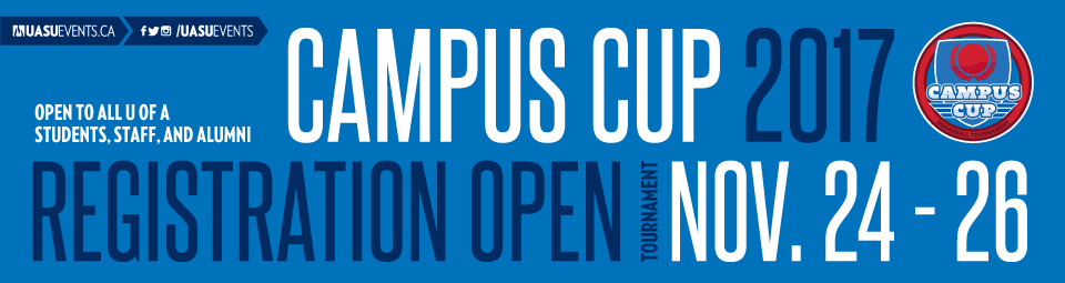 Campus Cup Registration now open